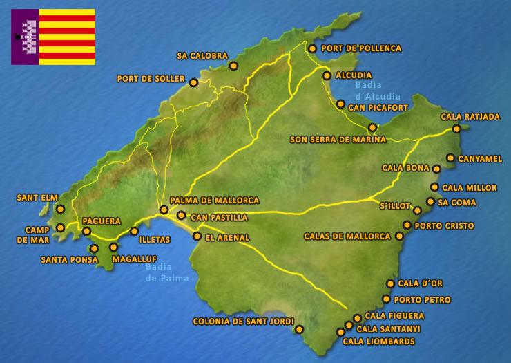 Mallorca Orte Die Beliebtesten Ferienorte Auf Mallorca
